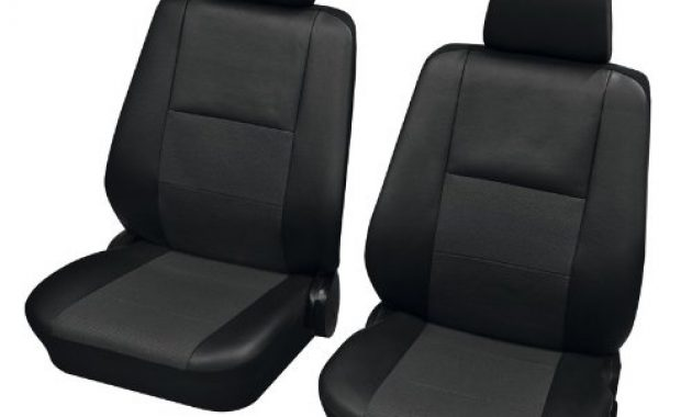fantastische faszination 3174 autositzbezug sitzbezug schonbezug vordersitz garnitur schwarz anthrazit passend fur foto