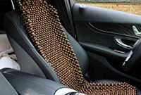 fantastische natur holz perle sitz bezug massage cool kissen fur auto truck bild