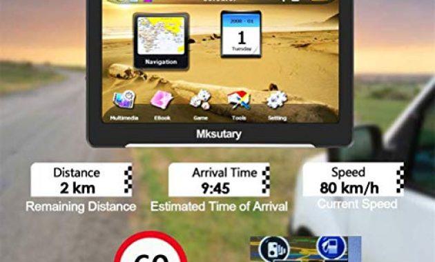 fantastische navigationsgerate fur auto gps 7 zoll pkw lkw navi navigation fuer auto europa kostenloses kartenupdate navigationsgerat mit sprachsteuerung hohe helligkeit kapazitiver touc bild