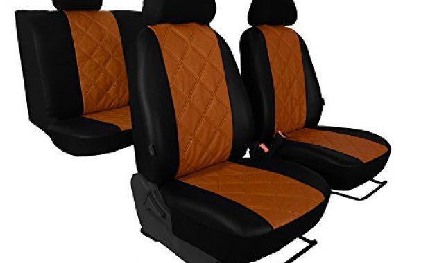 fantastische sitzbezug in kunst leder diagonal gesteppter sitzflache 5 farben amarok bild