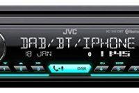 grossen caraudio24 jvc kd x451dbt dab bluetooth mp3 usb autoradio fur seat mii ab 2011 foto