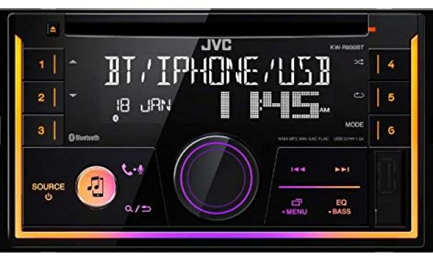 grossen caraudio24 jvc kw r920bt bluetooth 2din aux cd mp3 usb autoradio fur skoda fabia octavia ii rapid roomster bild