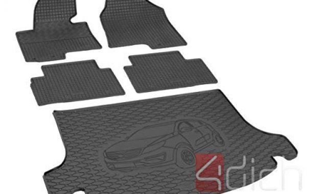 grossen passgenaue kofferraumwanne und gummifussmatten geeignet fur kia sportage ab 2010 ein satz bild
