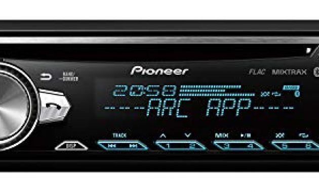 grossen pioneer deh s5000bt 1din autoradio cd tuner mit rds bluetooth mp3 usb aux eingang bluetooth freisprecheinrichtung multi color tastenbeleuchtung arc karaoke mic mixing foto