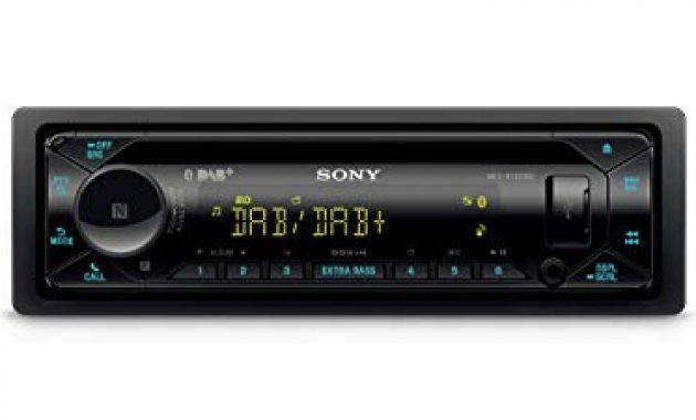 grossen sony mex n7300kit dab autoradio mit cd dual bluetooth usb und aux anschluss bluetooth freisprechen 4 x55 watt 3x preout extra bass vario color foto