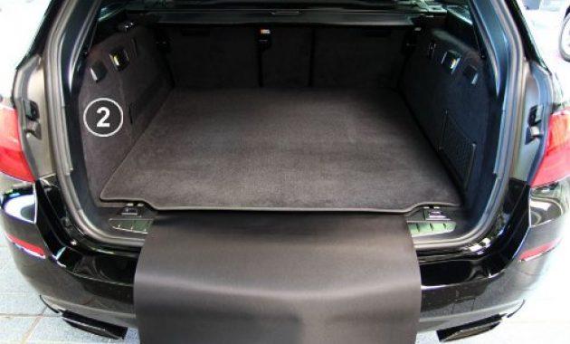 grossen tuning art 2901 kofferraummatte 3 teilig ruckbankschutz ladekantenschutz foto