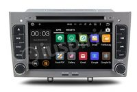 schone android 71 4 g lte gps dvd usb sd wlan autoradio 2 din navi peugeot 308peugeot 408 foto