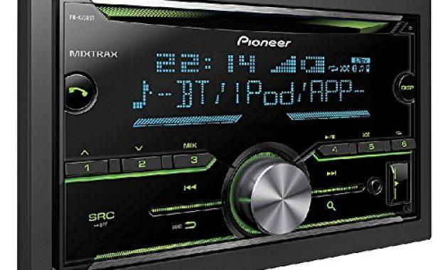 schone auto radio cd receiver pioneer mit usb cd aux bluetooth fur vw polo 6r 2009 2014 incl einbauset schwarz bild