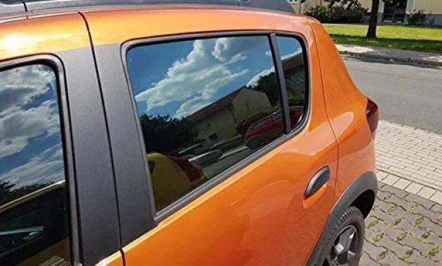 schone auto sonnenschutz fertige passgenaue scheiben tonung sonnenblenden keine folien vorsatzscheiben dacia sandero stepway ab 13 foto