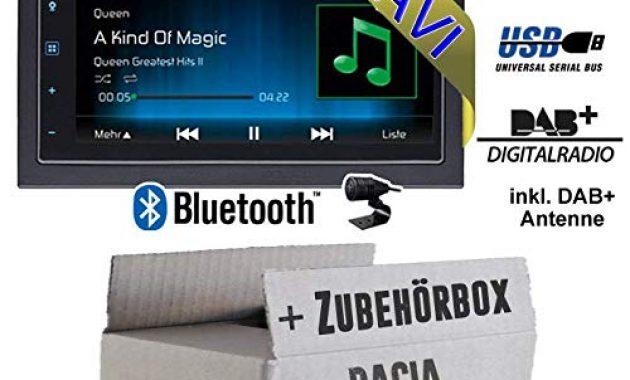 schone autoradio radio mac audio mac 520 dab 2 din navigation usb bluetooth dab navi einbauzubehor einbauset fur dacia dokker 2din just sound best choice for caraudio bild