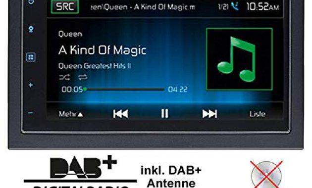 schone autoradio radio mac audio mac 520 dab 2 din navigation usb bluetooth dab navi einbauzubehor einbauset fur dacia dokker 2din just sound best choice for caraudio foto