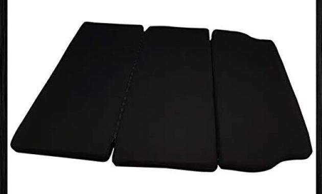schone bremer sitzbezuge vw t5 t6 multivan multiflexboard inkl matratze bettverlangerung unischwarz foto