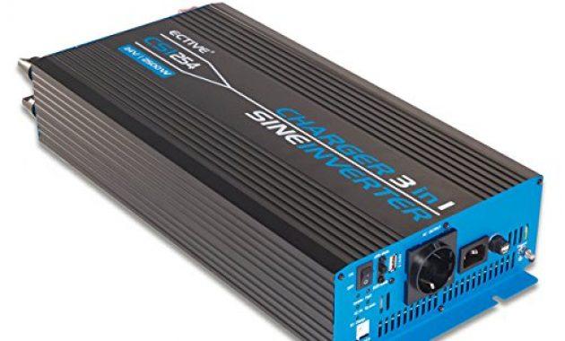 schone ective 2500w 24v zu 230v csi serie reiner sinus wechselrichter mit batterie ladegerat und nvs in 6 varianten 300w 3000w foto