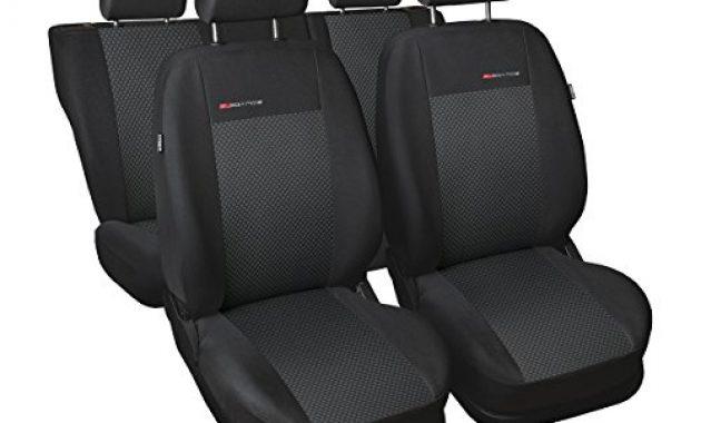 schone elegance e3 massgeschneidert autoschonbezug set hintere geteilte sitzbank 5902311274826 foto