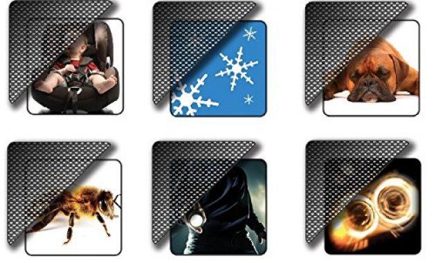 schone fahrzeugspezifische sonnenschutz blenden komplett set az17000903 foto