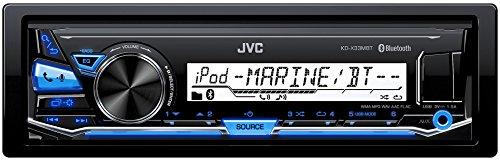 schone jvc kd x33mbt digital media receiver fur maritimen einsatz bluetooth technologie front usbaux eingang schwarz bild