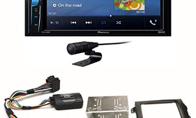 schone pioneer avh a210bt usb autoradio touchscreen bluetooth moniceiver autoradio cd dvd mp3 freisprecheinrichtung wav aux aac divx einbauset fur suzuki sx4 fiat sedici foto