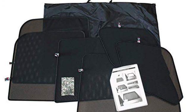 schone satz car shades kompatibel mit audi a3 8p 5 turer 2003 2012 bild