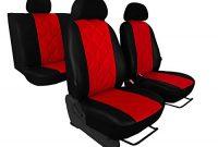 schone sitzbezug in kunst leder diagonal gesteppter sitzflache 5 farben amarok foto