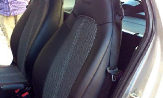schone topcar athens zwei auto sitzbezuge aus synthetischem und kunstleder kompatibel mit smart fortwo 451 100 passgenau auto sitzbezuge schwarz grau foto