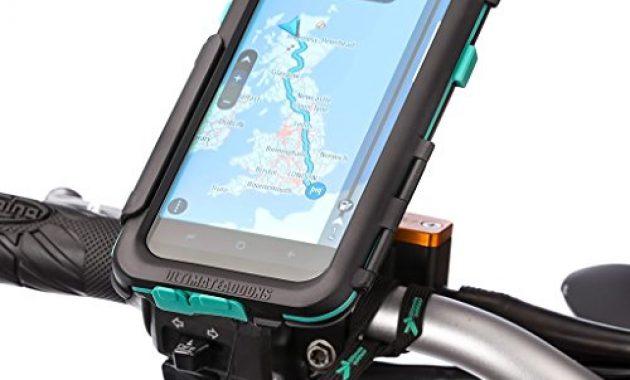 schone ultimateaddons motorrad wasserdichte schutzhulle fur galaxy s8 mit bike mount bild