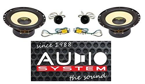 wunderbare audio system r 165 em 165 mm 2 wege easy mounting compo system foto