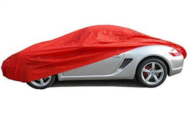 wunderbare ballier autoabdeckung puff indoor grosse m 420x176x149 cm rot foto