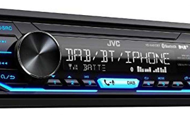 wunderbare caraudio24 jvc kd x451dbt dab bluetooth mp3 usb autoradio fur seat mii ab 2011 bild