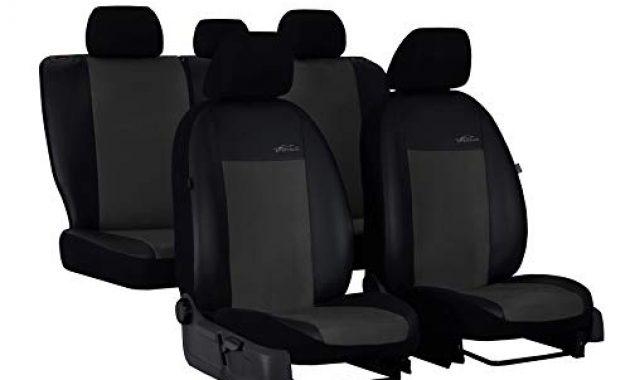 wunderbare ejp unico premium autositzbezuge sitzbezuge schonbezuge set passend fur navara np300 d40 hier farbe grau foto