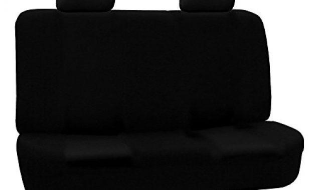 wunderbare fh group fb050black114 vollen satz flachgewebe autositzbezuge schwarz anzahl 8 foto