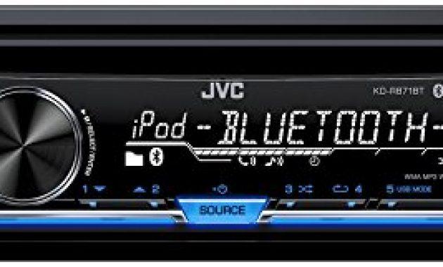 wunderbare jvc kd r871bt autoradio usbcd receiver mit bluetooth inkl a2dp schwarz bild