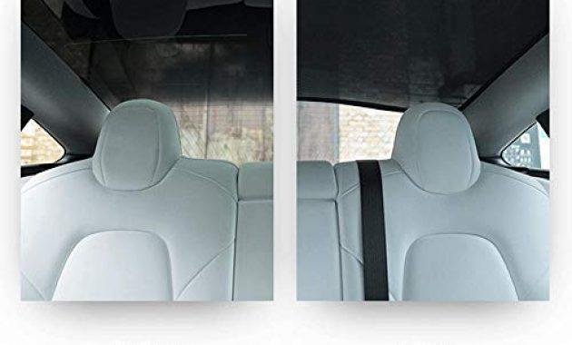 wunderbare lesgos autofenster sonnenschirme car sunroof uv rays protection window shade fur tesla model 3 front sunshade rear sunshade bild
