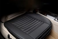 wunderbare lpy auto sitzkissen auto sitzbezuge leder atmungsaktives bequemes auto kissen autositz schutz black foto