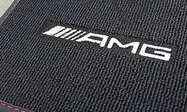 wunderbare mercedes benz amg original satz 4 teilig velour fussmatten schwarz mit roter ziernathumrandung c 117 cla coupe baujahr von 012013 bis 042019 foto