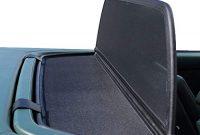 wunderbare mercedes benz windschott sl klasse schwarz 100 passgenau oem qualitat foto