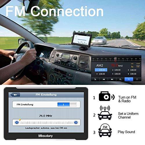 wunderbare navigationsgerate fur auto gps 7 zoll pkw lkw navi navigation fuer auto europa kostenloses kartenupdate navigationsgerat mit sprachsteuerung hohe helligkeit kapazitiver touchs bild
