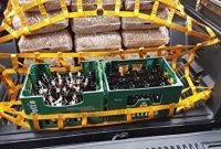 wunderbare schneidmeister truckbedmaster model ranger maxdual perfekter ladeflachenteiler cargo system fracht und heckklappennetz passend fur ford ranger truck bed organizer bild