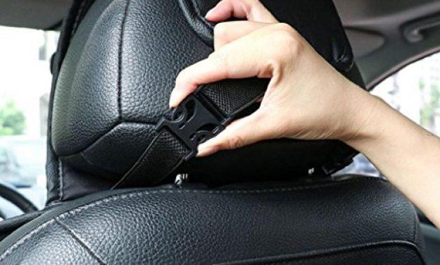wunderbare sharplace sanfte auto sitzbezuge inkl autositz und kopfstutze bezuge fur kfz lkw schwarz foto
