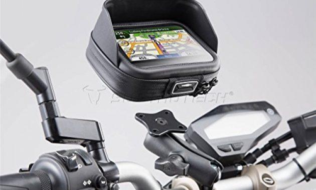 wunderbare sw motech universal motorrad gps navihandy halter navi pro case l foto