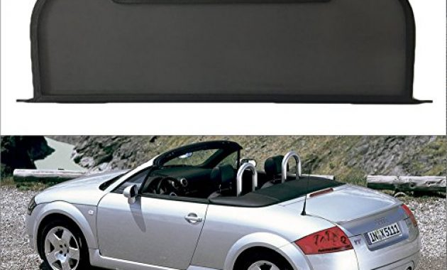 wunderbare windschott fur audi tt 8n roadster schwarz 1999 2005 neuware originalverpackt foto