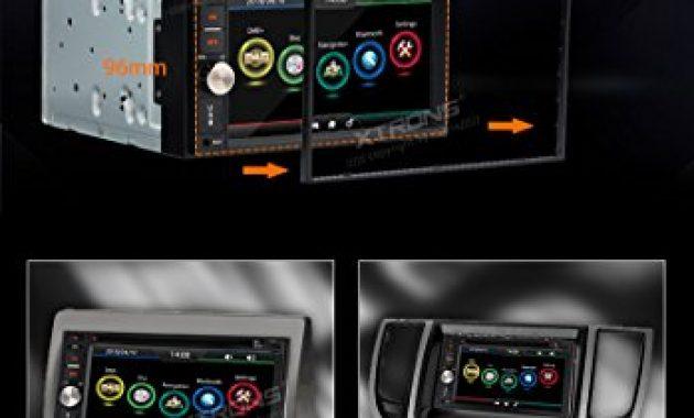 wunderbare xtrons 62 hd tft touchscreen double din autoradio auto naviceiver dvd player unterstutzt dab gps navigation bluetooth50 2din rds lenkradfernbedienung windows ce bild